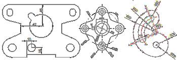 diseño cad CNC corte plasma tucan hierro cat